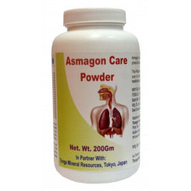 Tonga Herbs Asmagon Care Powder - 200Gm (Buy Any Supplement Get The Same 60ml drops Free)