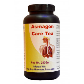 Tonga Herbs Asmagon Care Tea - 250 Gm (Buy Any Supplement Get The Same 60ml Drops Free)