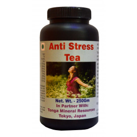 Tonga Herbs Anti Stress Tea - 250 Gm (Buy Any Supplement Get The Same 60ml Drops Free)