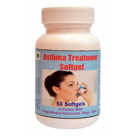 Tonga Herbs Asthma Treatment Softgel - 60 Softgels (Buy Any Supplement Get The Same 60ml Drops Free)