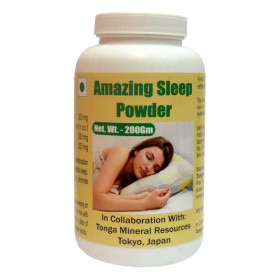 Tonga Herbs Amazing Sleep Powder - 200Gm (Buy Any Supplement Get The Same 60ml drops Free)