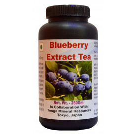 Tonga Herbs Blueberry Extract Tea - 250 Gm (Buy Any Supplement Get The Same 60ml Drops Free)