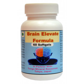 Tonga Herbs Brain Elevate Formula  Softgel - 60 Softgels (Buy Any Supplement Get The Same 60ml Drops Free)