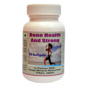 Tonga Herbs Bone Health & Strong Softgel - 60 Softgels (Buy Any Supplement Get The Same 60ml Drops Free)
