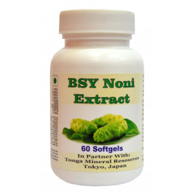 Tonga Herbs Bsy Noni Extract Softgel - 60 Softgels (Buy Any Supplement Get The Same 60ml Drops Free)