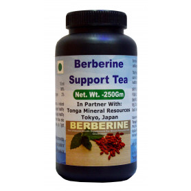 Tonga Herbs Berberine Support Tea - 250 Gm (Buy Any Supplement Get The Same 60ml Drops Free)