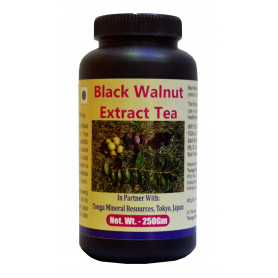 Tonga Herbs Black Walnut Extract Tea - 250 Gm (Buy Any Supplement Get The Same 60ml Drops Free)