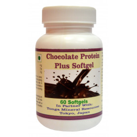 Tonga Herbs Chocolate Protein Plus Softgel  - 60 Softgels (Buy Any Supplement Get The Same 60ml Drops Free)