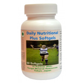 Tonga Herbs Daily Nutritional Plus Softgel - 60 Softgels (Buy Any Supplement Get The Same 60ml Drops Free)