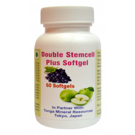 Tonga Herbs Double Stemcell Plus Softgel - 60 Softgels (Buy Any Supplement Get The Same 60ml Drops Free)