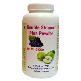 Tonga Herbs Double Stemcell Plus Powder - 200Gm (Buy Any Supplement Get The Same 60ml drops Free)