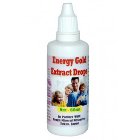 Tonga Herbs Energy Gold Extract Drops - 60 ml (Buy Any Supplement Get The Same 60ml drops Free)