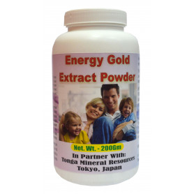 Tonga Herbs Energy Gold Extract Powder - 200Gm (Buy Any Supplement Get The Same 60ml drops Free)
