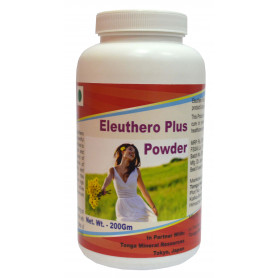 Tonga Herbs Eleuthero Plus Powder - 200Gm (Buy Any Supplement Get The Same 60ml drops Free)