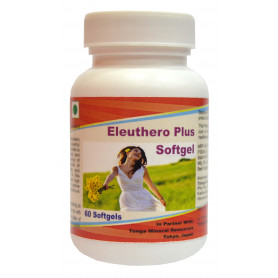 Tonga Herbs Eleuthero Plus Softgel - 60 Softgels (Buy Any Supplement Get The Same 60ml Drops Free)