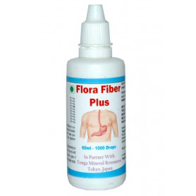 Tonga Herbs Flora Fiber Plus Drops - 60 ML (Buy Any Supplement Get The Same 60ml drops Free)