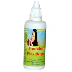 Tonga Herbs Feminine Plus Drops - 60 ml (Buy Any Supplement Get The Same 60ml drops Free)