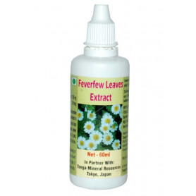 Tonga Herbs Feverfew Leaves Extract Drops - 60 ml (Buy Any Supplement Get The Same 60ml drops Free)