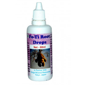 Tonga Herbs Fo-Ti Root Drops - 60 ML (Buy Any Supplement Get The Same 60ml drops Free)