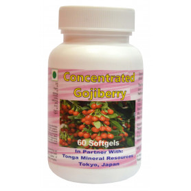 Tonga Herbs Concentrated Gojiberry Softgel - 60 Softgels (Buy Any Supplement Get The Same 60ml Drops Free)