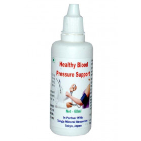 Tonga Herbs Healthy Blood Pressure Support Drops - 60 ML (Buy Any Supplement Get The Same 60ml drops Free)