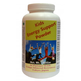 Tonga Herbs Kids Energy Support Powder - 200Gm (Buy Any Supplement Get The Same 60ml drops Free)
