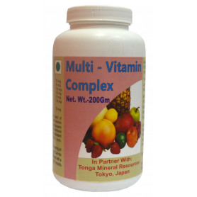 Tonga Herbs Multi-Vitamin Complex Powder - 200Gm (Buy Any Supplement Get The Same 60ml drops Free)