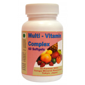 Tonga Herbs Multi-Vitamin Complex Softgel - 60 Softgels (Buy Any Supplement Get The Same 60ml Drops Free)