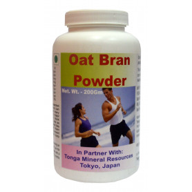 Tonga Herbs Oat Bran Powder - 200Gm (Buy Any Supplement Get The Same 60ml drops Free)