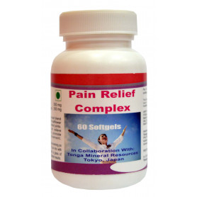 Tonga Herbs Pain Relief Complex Softgel - 60 Softgels (Buy Any Supplement Get The Same 60ml Drops Free)