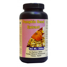Tonga Herbs Pumpkin Seed Extract Tea - 250 Gm (Buy Any Supplement Get The Same 60ml Drops Free)