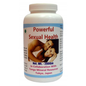 Tonga Herbs Powerful Sexual Health Powder - 200Gm (Buy Any Supplement Get The Same 60ml drops Free)