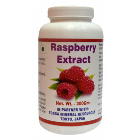 Tonga Herbs Raspberry Extract Powder - 200Gm (Buy Any Supplement Get The Same 60ml drops Free)