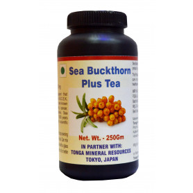 Tonga Herbs Sea Buckthorn Plus Tea - 250 Gm (Buy Any Supplement Get The Same 60ml Drops Free)
