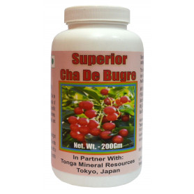 Tonga Herbs Superior Cha De Bugre Powder - 200Gm (Buy Any Supplement Get The Same 60ml drops Free)