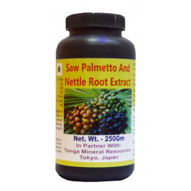 Tonga Herbs Saw Palmetto And Nettle Root Extract Tea - 250 Gm (Buy Any Supplement Get The Same 60ml Drops Free)