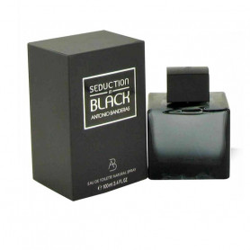 Antonio Banderas Seduction Eau De Toilette in Black for Men, 100ml