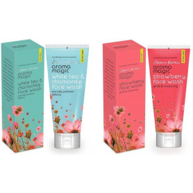Aroma Magic White Tea & Chamomile and Strawberry Face Wash
