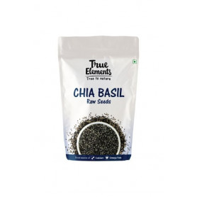 True Elements Raw Chia Basil Seeds 500gm
