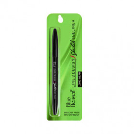 Blue Heaven Line and Design Sketch Eye Liner, Black, 1g
