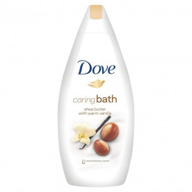Dove Caring Bath Shea Butter With Warm Vanilla Body Wash  (500 ml)
