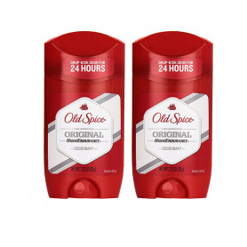 OLD SPICE IMPORTED ORIGINAL HIGH ENDURANCE DEODORANT STICK - 63G PACK OF 2