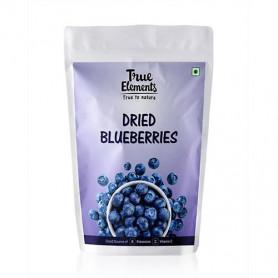 True Elements Dried Blueberries 125gm
