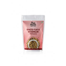 True Elements Flax And Watermelon Seeds Mix Roasted Chilli Rosemary 125gm