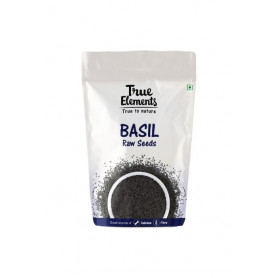 True Elements Basil seeds 250gm