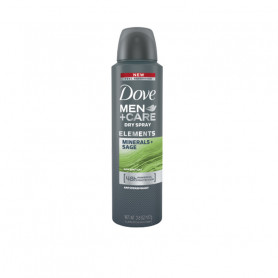 Dove Men+Care Antiperspirant Deodorant, Mineral + Sage, 150ml