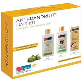 Dr Batra's Anti Dandruff Hair Kit , 525ml Combo Pack