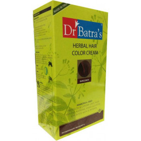 Dr. Batra's Herbal Cream Hair Color  (Burgundy)