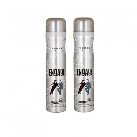 ENGAGE NEW METAL RANGE FOR WOMEN, DRIZZLE, 150ML Pack Of 2
