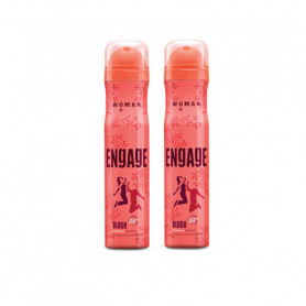 Engage Woman Deodorant Blush, 150ml Pack of 2